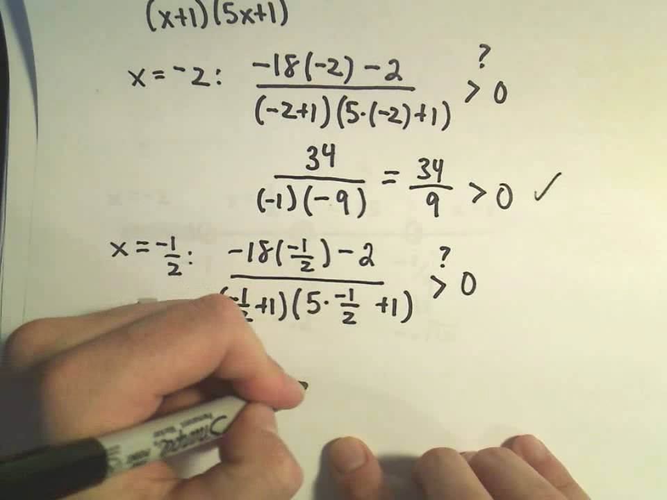 Solving a Rational Inequality More Examples Example 3 YouTube – Polynomial Inequalities Worksheet