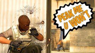 PEAK ME YOU WON'T! - CSGO Funny Moments