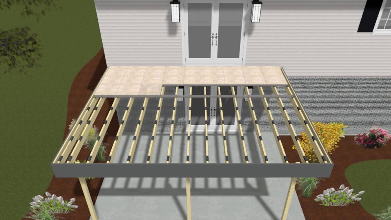 mbrico tile deck installation video instructions