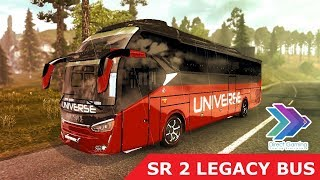 ETS 2 Bus Mod Laksana Legacy Sky SR2