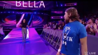 Daniel Bryan and Brie Bella attack The Miz and Maryse : Smackdown LIVE,August 21,2018