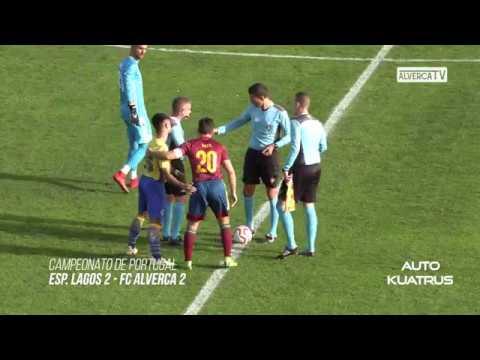 Esp. Lagos 2 - FC Alverca 2 Highlights
