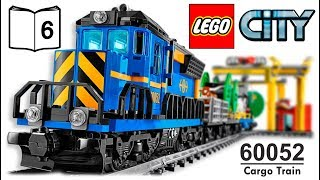 LEGO CITY 60052 Cargo Train Video Instructions 6