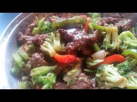 Beef/Broccoli And Peppers Stir- Fry