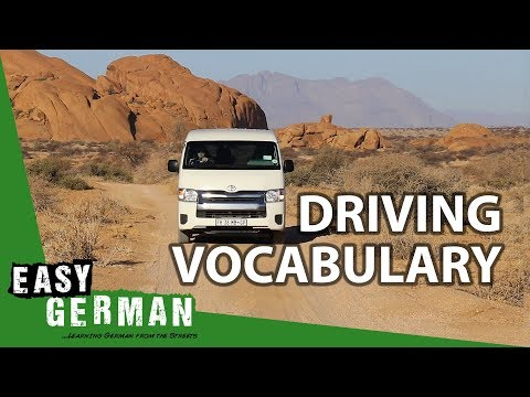 Download Youtube: Driving Vocabulary | Super Easy German 50