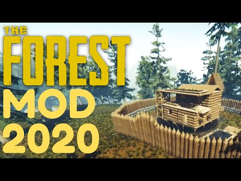 THE FOREST MOD 2020 (EASY WAY) !