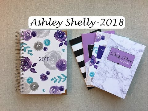 Ashley Shelly Review- {Planner, Peace Journal, Budget Notebook, & Monthly Notebook}