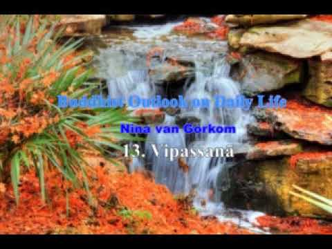 Buddhist Outlook on Daily Life 9   13  Vipassanā