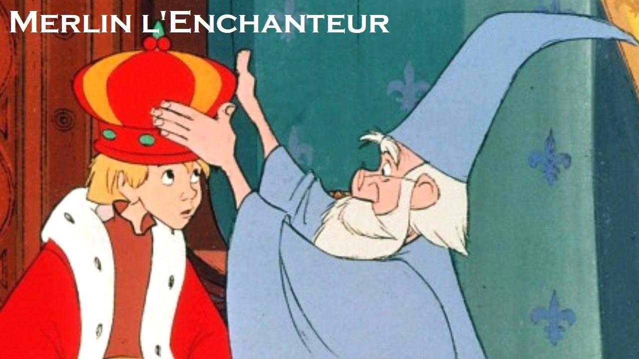merlin lenchanteur disney gratuit
