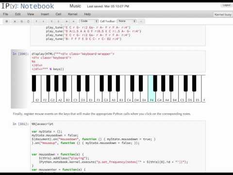 IPython Player Notebook