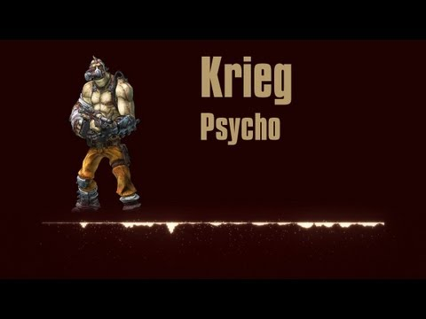 Borderlands 2 - Krieg Quotes