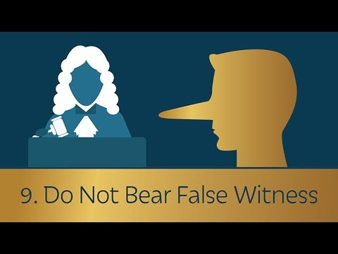 Image result for false witness