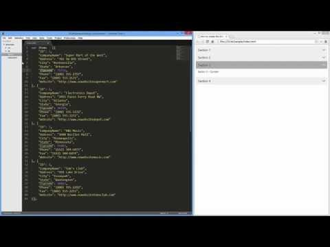 DevExpress DevExtreme: HTML5 Accordion Widget - YouTube