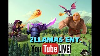 Clash Of Clans | War Attacks + Farming + Reviewing Bases| - Live Stream