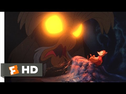 The Secret of NIMH (4/9) Movie CLIP - The Great Owl (1982) HD