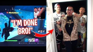 I Stream Sniped My Next Door Neighbor & HE BROKE IN! FORTNITE GONE INSANE!