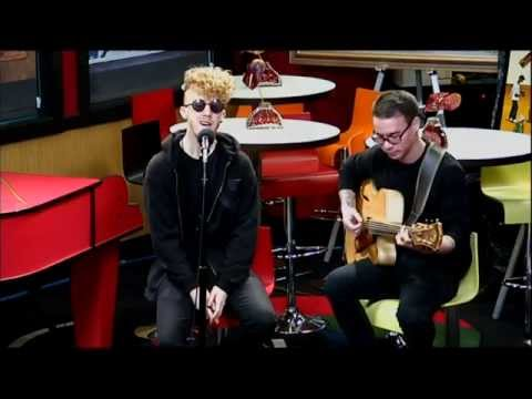 "Daley performs acoustic ""Alone Together"" (In Studio Jam, Red Velvet Cake Studio) - YouTube"