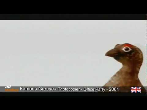 The Famous Grouse - Photocopier - Office Party