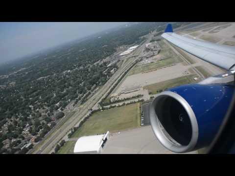 WINDY Takeoff - Delta A330 MSP-HNL