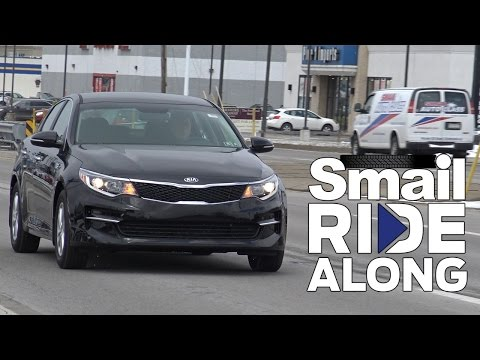 2017 Kia Optima LX - Smail Ride Along - Virtual Test Drive and Review