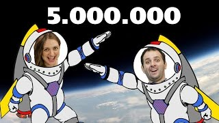 5 Milhões - Manual do Mundo na estratosfera!!!