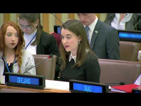 Ireland's UN Youth Delegates Statement to the Third Committee