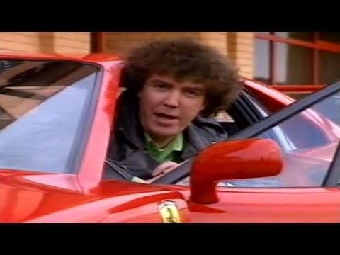 Old Top Gear from 1991 - Jeremy Clarkson reviews a Ferrari 348