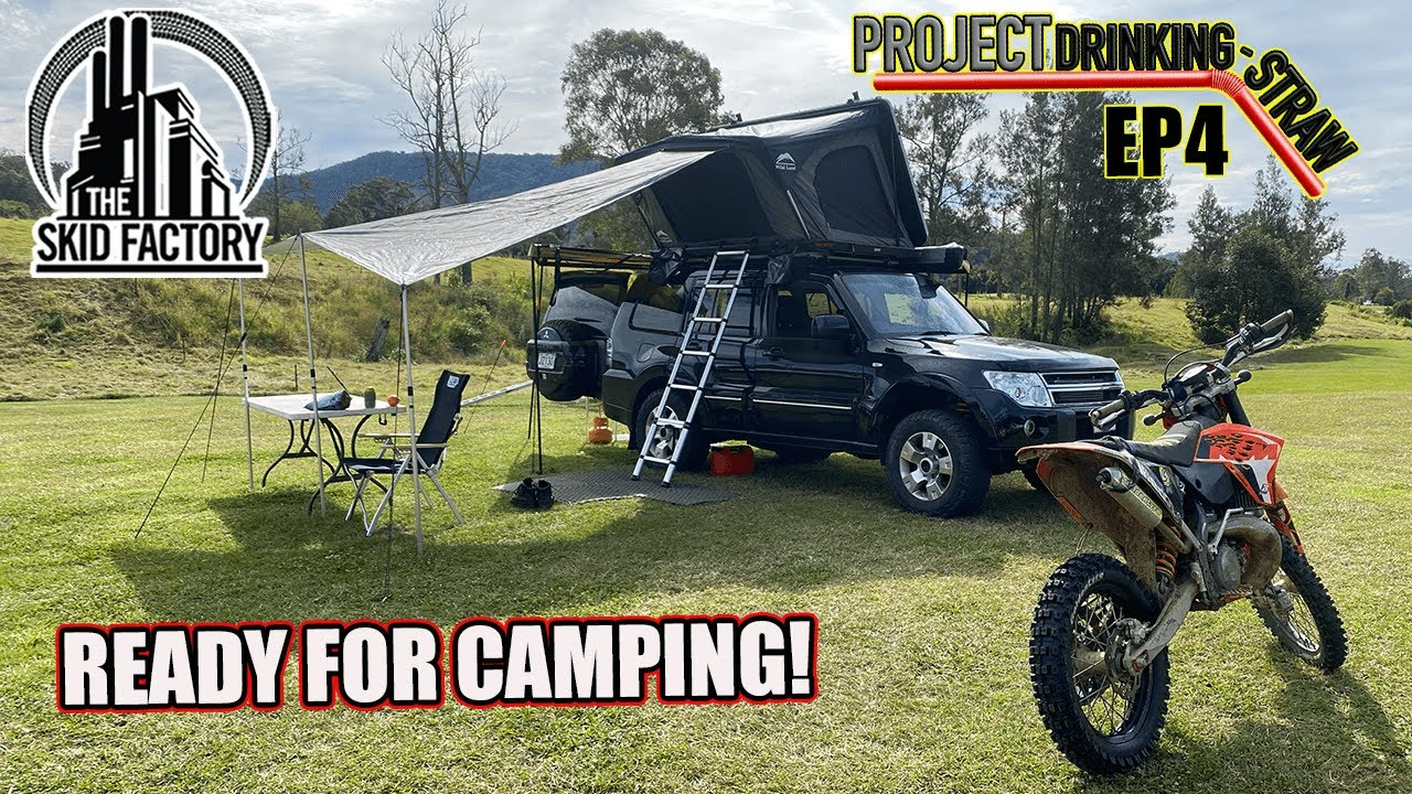 Roof Top Tent & AGM Dual battery Install - Project Drinking Straw EP4