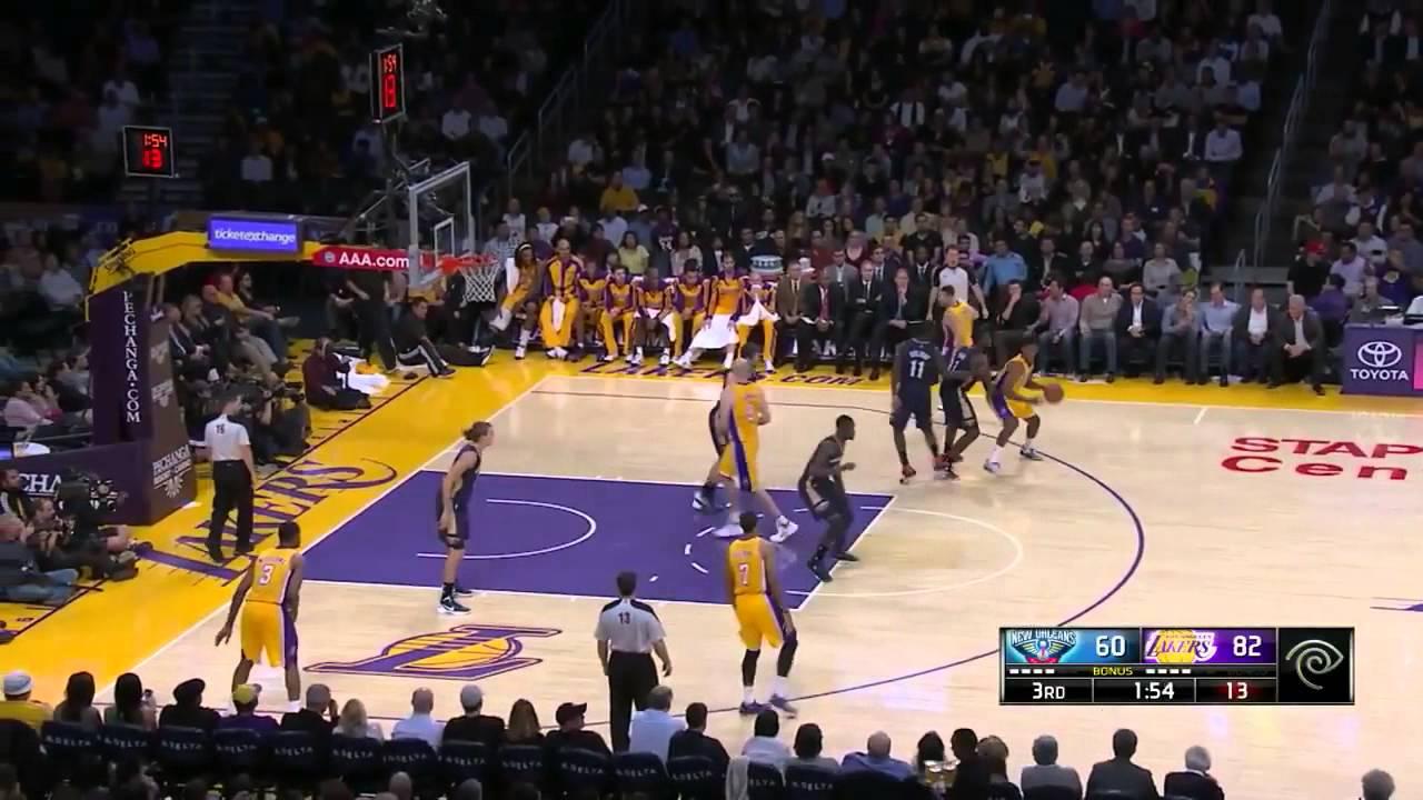 Xavier Henry Lakers 2013 Xavier Henry POSTERIZE...
