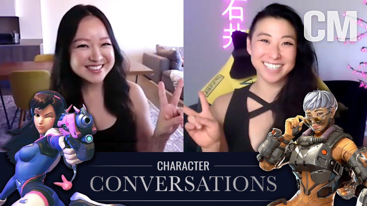 Charlet Chung & Erika Ishii || Character Conversations