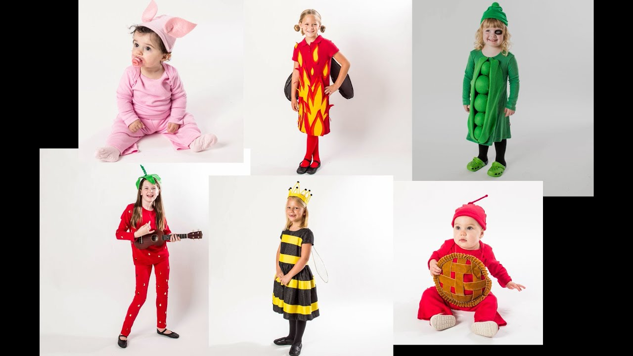 DIY Halloween Costumes for Kids - YouTube