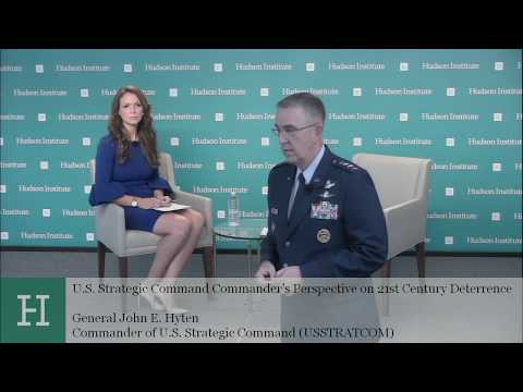 U.S. Strategic Command Commander's Perspective on 21st Century Deterrence