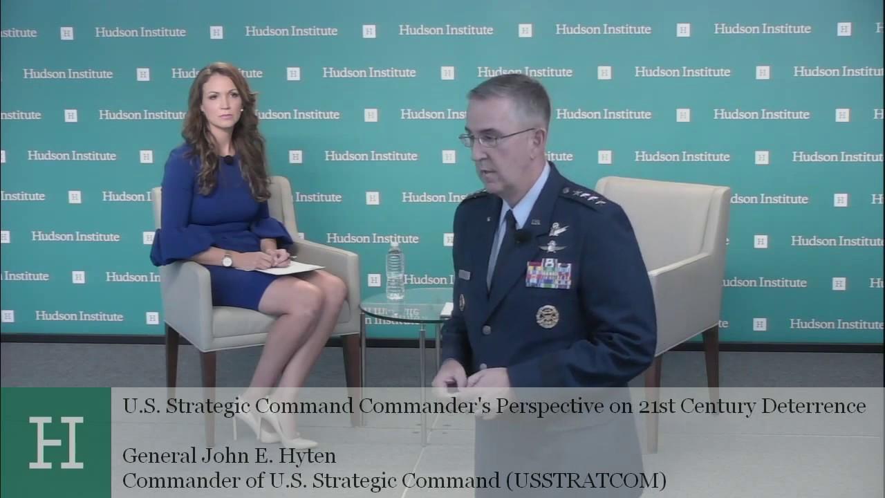 U S  Strategic Command Commander's Perspective on 21st Century Deterrence