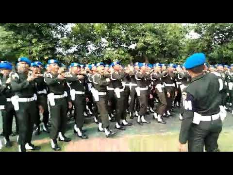 Yel Yel Polisi Militer Angkatan Darat 2018