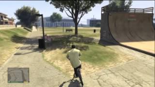 GTA V Bike Location and Tricks (Bunny Hop)