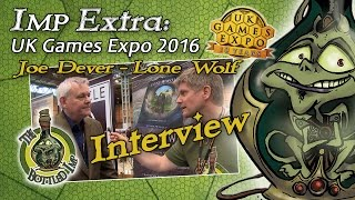 Imp Extra: UK Games Expo 2016 – Joe Dever author of Lone Wolf books Interview