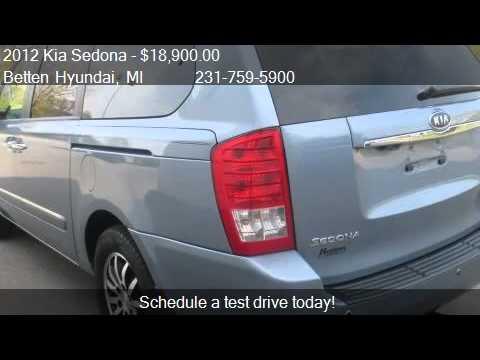 2012 Kia Sedona EX 4dr Mini Van LWB for sale in Muskegon, MI