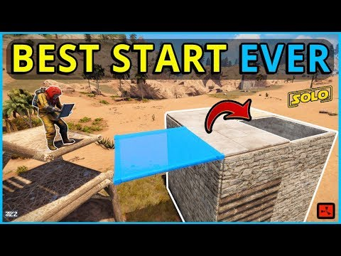 RUST SOLO: MY BEST SOLO START EVER (Ep1)