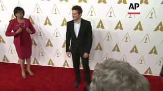 Oscar Nominees Arrive For Annual Motion Picture Academy Luncheon
