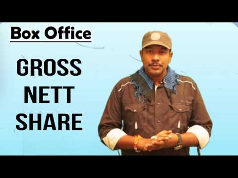 Gross Net Share Collections  Details In Movies Bisiness | Distributors | Exhibitors | Mr. B