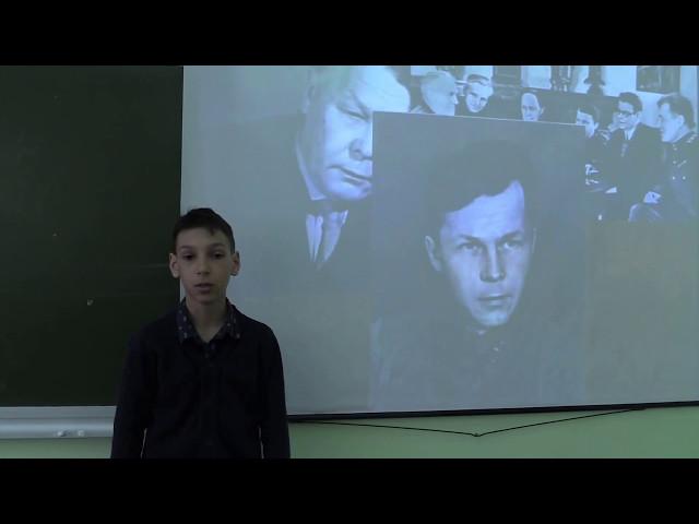 Изображение предпросмотра прочтения – ГеоргийБыков читает произведение «Рассказ танкиста» А.Т.Твардовского