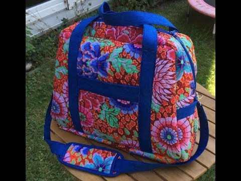 Learn to Quilt A Great Travel Bag – Quilting Class