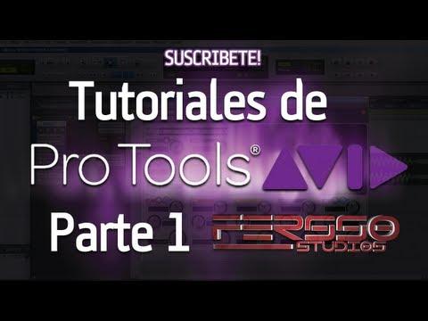 Como Usar Pro Tools  ( Paso Por Paso ) - Parte 1
