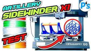 Mein BESTER 3D-DRUCKER? Artillery Sidewinder X1 [ TEST / Review / DEUTSCH ]