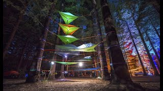 Camp in the trees : Tentsile