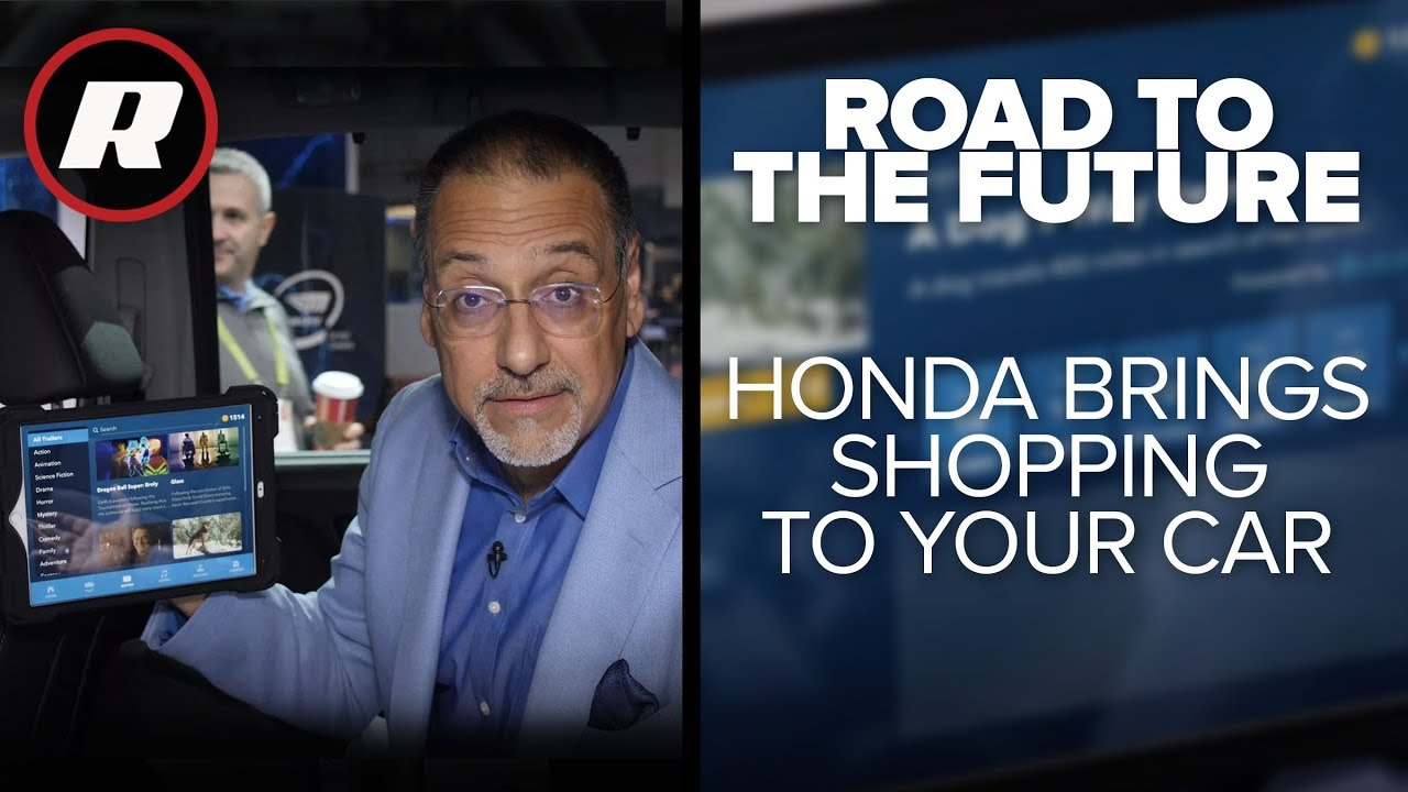 Cooley On Cars: Honda joins GM in the march toward in-dash commerce | Road to the Future