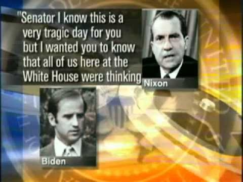 Nixon consoles Joe Biden clip