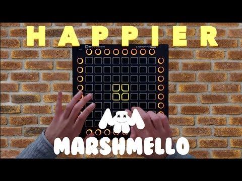 Marshmello - Happier feat Bastille (Launchpad Pro Cover) // Project Files // Sergio Valentino