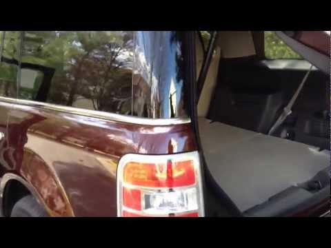 2012 Ford Flex EcoBoost Review, Walk Around, Start Up & Rev, Test Drive