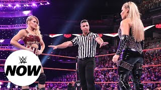 Reaction to Natalya and Lacey Evans' history-making match at WWE Crown Jewel: WWE Now